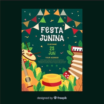 Flyer festa junina