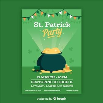 Flyer fête de la st patrick