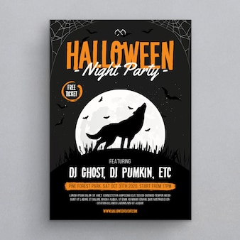 Flyer d'halloween