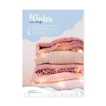 Flyer d'hiver a5 vertical