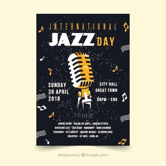 Flyer de la journée internationale du jazz