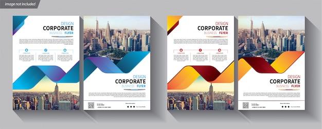 Flyer de modèle d'entreprise