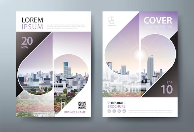 Flyer, modèles de couverture de livre, mise en page au format a4.