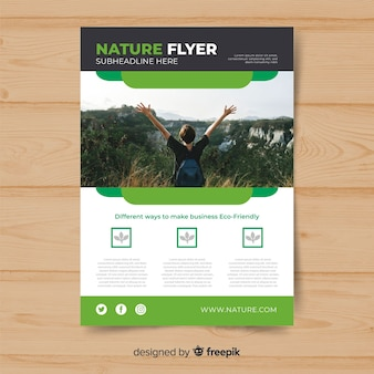 Flyer nature