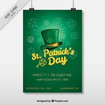 Le flyer template jour de st patrick