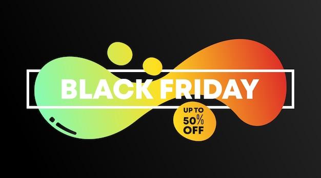 Flyer vendredi noir et bannière web