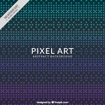 Foncé fond abstrait de pixels