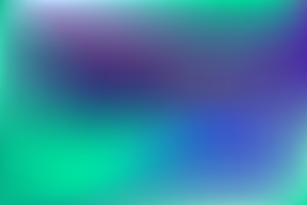 Foncer le style indigo bleu floue motif dégradé multicolore lisse style aquarelle moderne