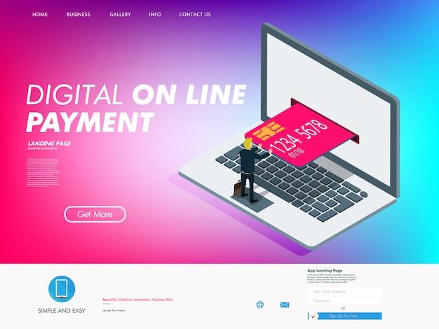 Fonction de carte de crédit à l'ère numérique