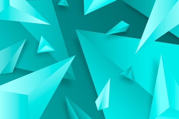 Fond 3d avec des couleurs vives
