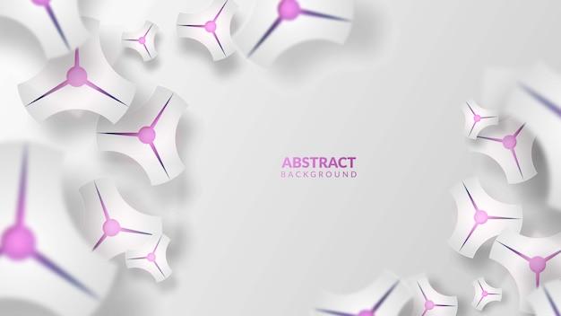 Fond abstrac violet moderne