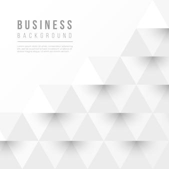 Fond abstrait affaires avec des formes géométriques