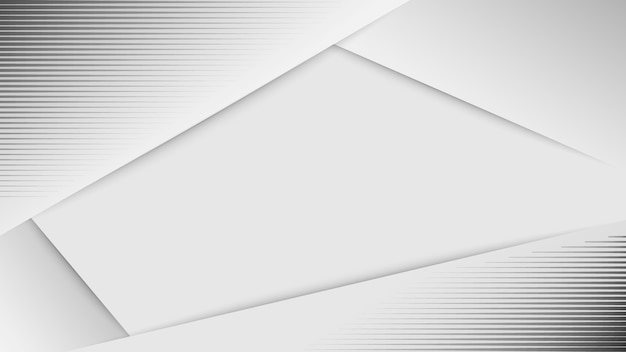Fond abstrait blanc conception de vecteur de fond gris blanc.