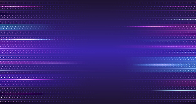 Fond Abstrait Bleu Violet Dégradé Géométrique Vecteur Premium