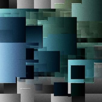 Fond abstrait avec des carrés