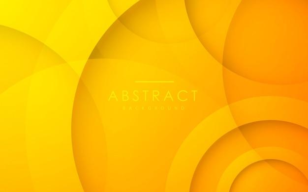 Fond abstrait cercle 3d