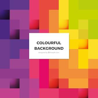 Fond abstrait coloré