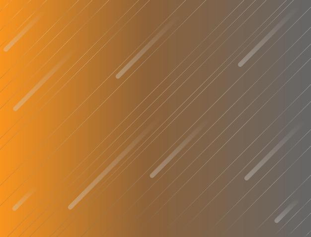 Fond abstrait avec la couleur orange et les rayures blanches transversales