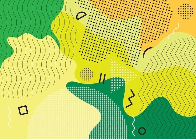 Fond abstrait couleur splash