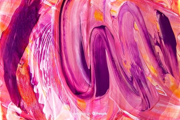 Fond abstrait coups de pinceau peint