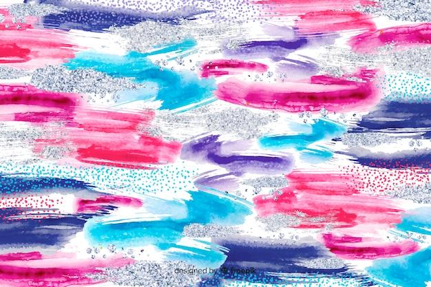Fond abstrait coups de pinceau