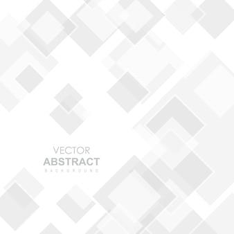 Fond abstrait de vecteur blanc