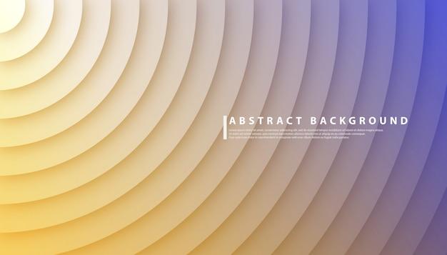 Fond abstrait dégradé de cercle radial