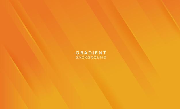 Fond abstrait dégradé orange