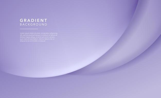 Fond abstrait dégradé violet doux