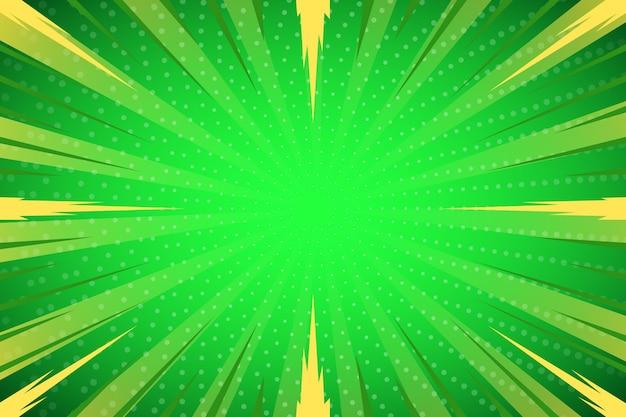Fond abstrait demi-teinte vert