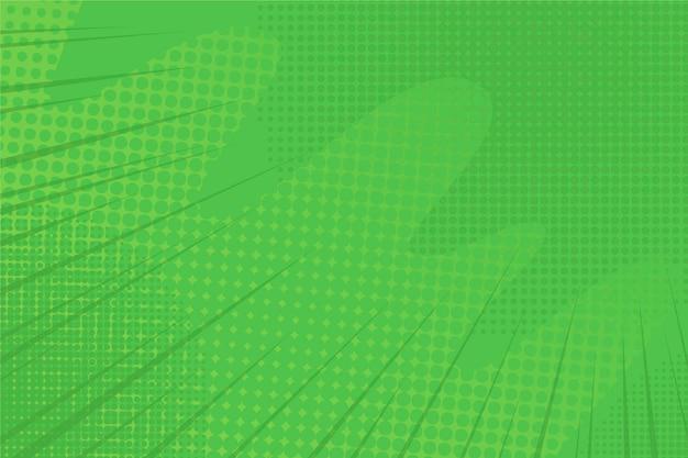 Fond abstrait demi-teinte verte