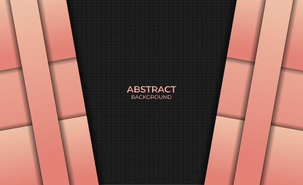 Fond abstrait design dégradé style couleur orange