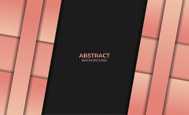Fond abstrait design style dégradé couleur orange