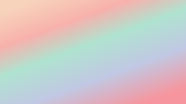 Fond abstrait effet dégradé de couleur pastel