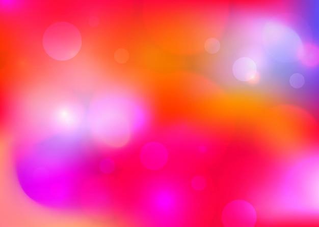 Fond abstrait élégant de noël festif rouge avec lueur et lumières illustration vectorielle