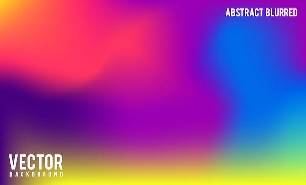 Fond abstrait flou gradient mesh