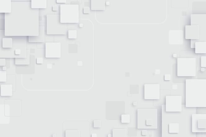 Fond abstrait de formes blanches