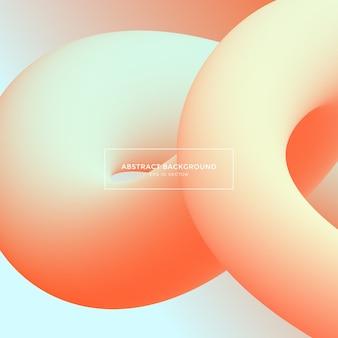 Fond abstrait, formes de dégradé de couleur