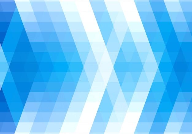 Fond abstrait de formes géométriques bleues