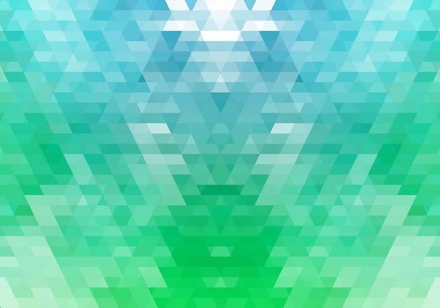 Fond abstrait de formes géométriques colorées