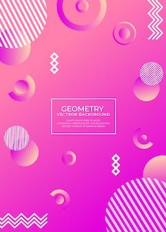Fond abstrait géométrie