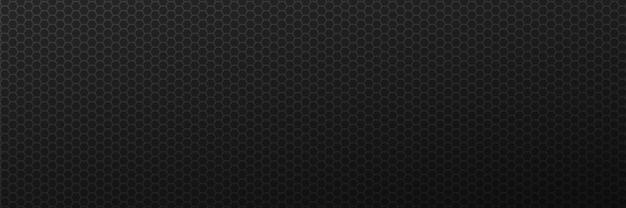 Fond abstrait hexagones de la grille engrenages de carbone minimaux avec techno