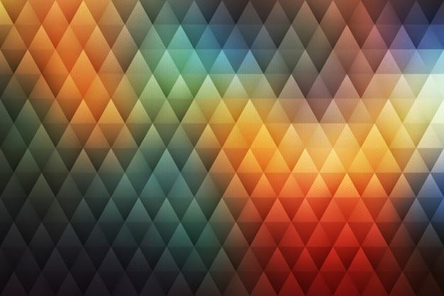 Fond abstrait hipster géométrique de vecteur