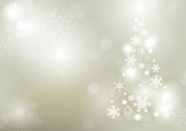 Fond abstrait hiver bokeh