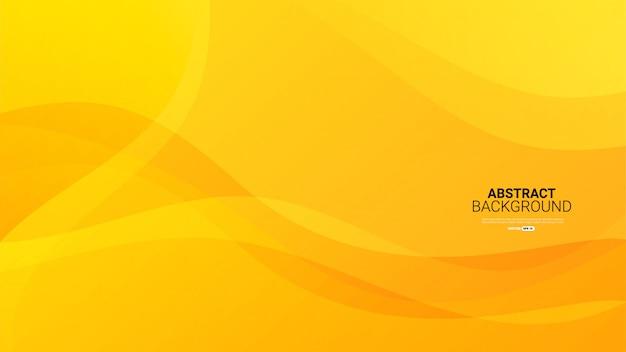 Fond abstrait jaune texturé dynamique