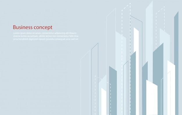 Fond abstrait ligne carrée et espace pour le vecteur d'écriture