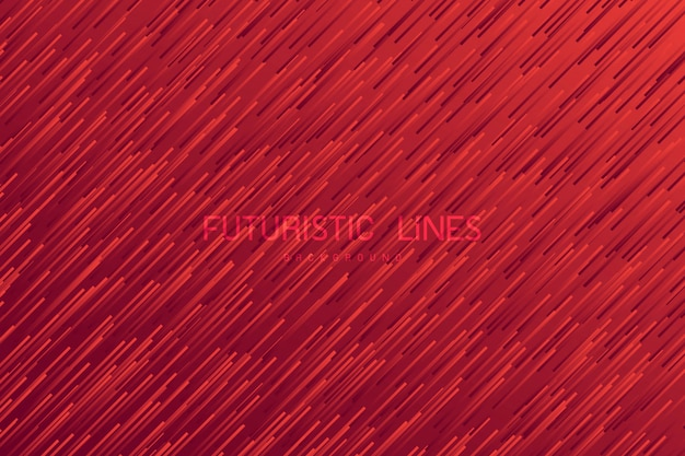 Fond abstrait ligne rouge.