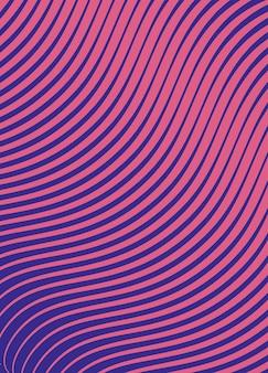 Fond abstrait lignes dégradées fiolet