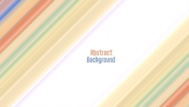 Fond abstrait lignes diagonales élégantes