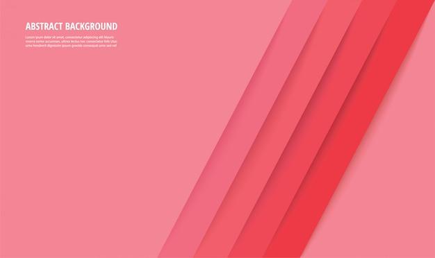 Fond abstrait lignes roses modernes